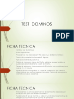 TEST  DOMINOS