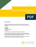 Criticl thinking