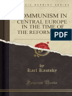 Kautsky, K., Communism in Central Europe