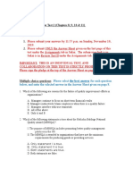 Review Test II _ch 8-9-10- 11_ Fall 2019