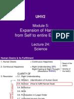 UHV2 M5 L24 - Science