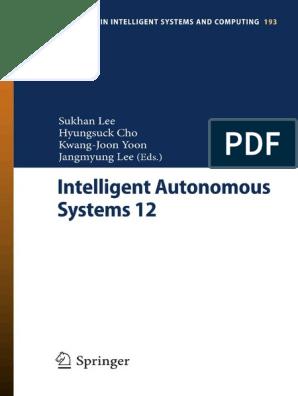 Intelligent Autonomous Systems 12 2013 Pdf Computer Vision Ellipse