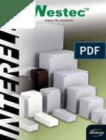 Catálogo WESTEC-Cajas de aluminio