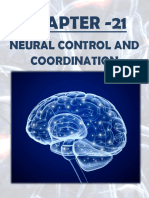 MCQs  OF NEURAL CONTROL AND COORDINATION