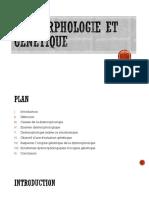 Dysmorphologie et génétique.pptx
