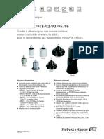 sondes-ultrasons-mesure-niveau-debit-prosonic