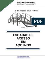 Escadas de Acesso Em Aço Inox