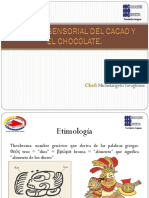 ANALISIS SENSORIAL EL CACAO Y EL CHOCOLATE. Michelangelo Tavaglione