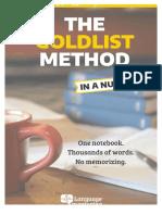 Libreta vocabulario