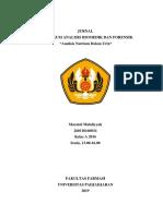 Analisis Natrium Dalam Urin