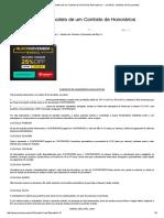 (Área Trabalhista) Modelo de Um Contrato de Honorários Advocatícios I - JurisWay - Modelos de Documentos
