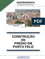 Construção de Prédio Em Porto Feliz