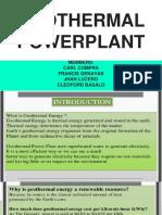 GEOTHERMAL-POWERPLANT