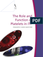 Role Function of Platelets