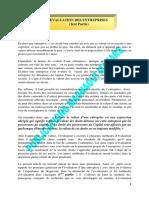 BIP 73 1998 Evaluation des entreprises 1