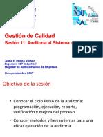 GC S11 ISO 9001 2015 Auditoria