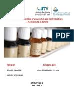 tp 4 chimie organique ester..docx