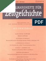Zeitgeschichte 1979, Adenauer, Zonenpolitik