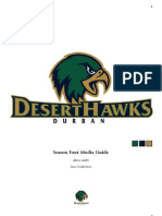 Durban DesertHawks Season Four Media Guide