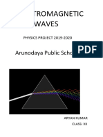 Electromagnetic waves project