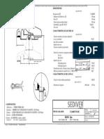 Aislador de Vidrio 160 kNF