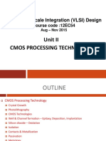 CMOS Processing Technology.ppt