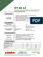 Agrishift Ga 12 a 1108