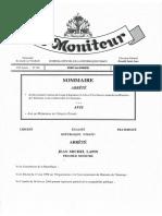 ARRETE DU 17 JUILLET 2019 CREANT LE CORPS DES INGENIEURS ET ARCHITECTES RATTACHE AU MICT