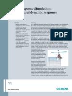 NX Response Simulation Fact Sheet