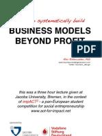 Modelo de Negocio Beyond Profit