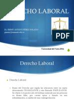 Derecho Laboral - Presentación
