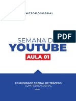 AULA 01 - Princípios básicos dos anúncios no YouTube (PEDRO SOBRAL)