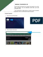 Manual de Usuario Para La Creación de Animaciones – Toontastic 3d.