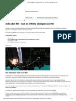 GUÍA COMPLETA Indicador RSI - Qué es el RSI y divergencias RSI