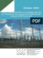 TCO - Transformer Protection Analysis