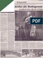 El primogénito de Bolognesi, exalumno de la UNSA