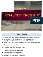 Lecture # 2 Cement Hydration