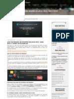 Ecodeup Compatrones de Diseno en Java Mvc Dao y Dto