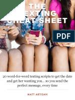 Texting Cheat Sheet