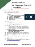 capf booklist