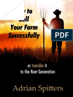 1 How to Sell Your Farm Successfully  - Adrian Spitters