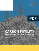 Lea R 2019 - Carbon Futility Five essays on climate policy