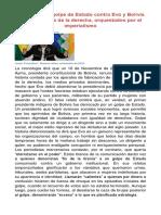 La Verdad Sobre El Golpe de Estado en Bolivia. Las 4 g. Colombia Desde El Satélite
