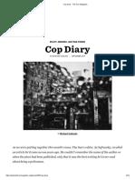 Cop Diary - The Sun Magazine
