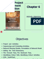 Activity planning for software Projects