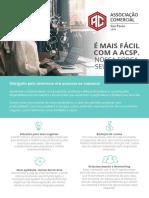 Serviços e Benefícios - ACSP