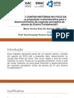 seminar A ARTE DE CONTAR HISTÓRIAS NO FOCO