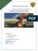 Materiales que arrojan los volcanes