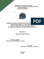 3. Drd. Cojocaru i. Aurora Liliana Rezumat Romana Teza Doctorat