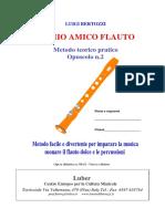 Opuscolo n.2 Il Mio Amico Flauto Pag. Da 1-20